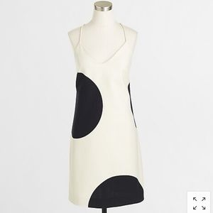 J.Crew Factory Dotted racerback dress - Size 2